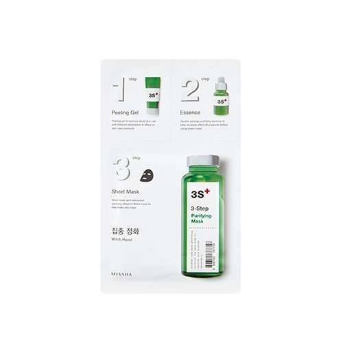 Missha 3 Step Purifying Mask Mascarilla purificante[:en]Missha 3 Step Purifying Mask Mascarilla purificante