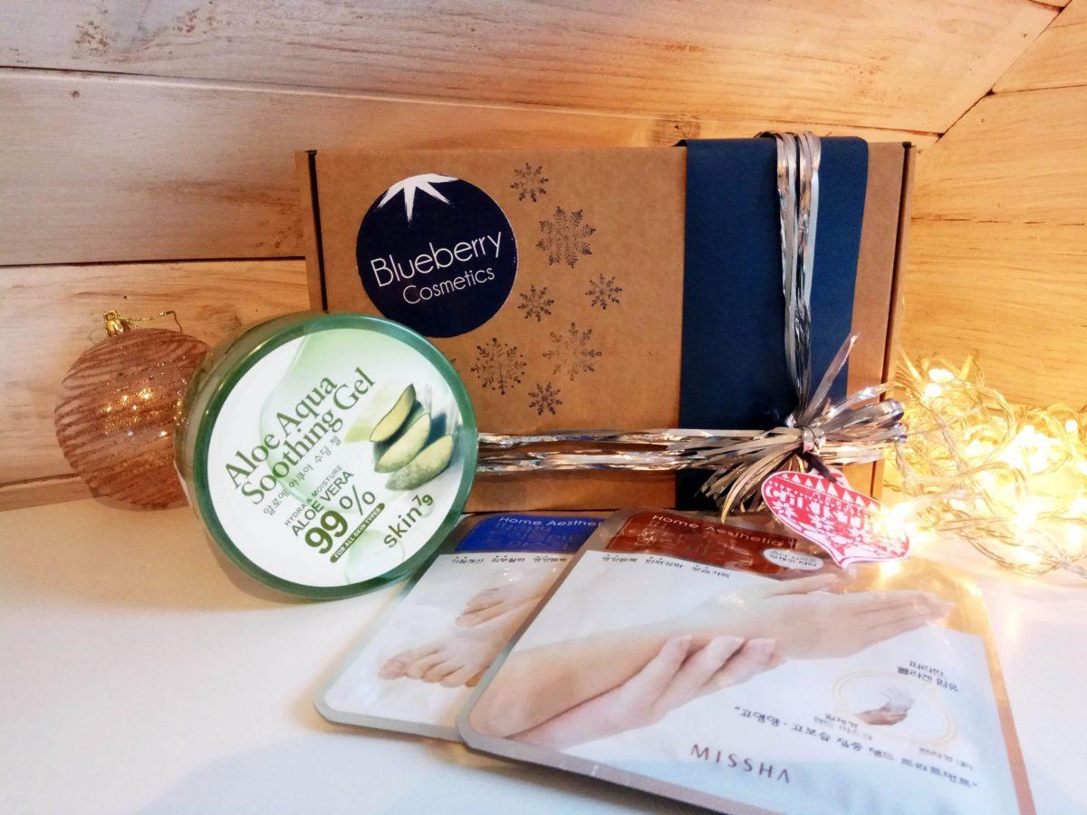 Blueberry Cosmetics Pack regalo de Navidad Aloe