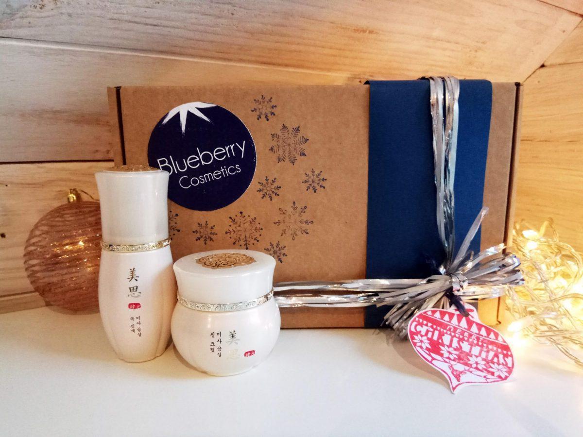Blueberry Cosmetics Pack regalo de Navidad Geum Sul