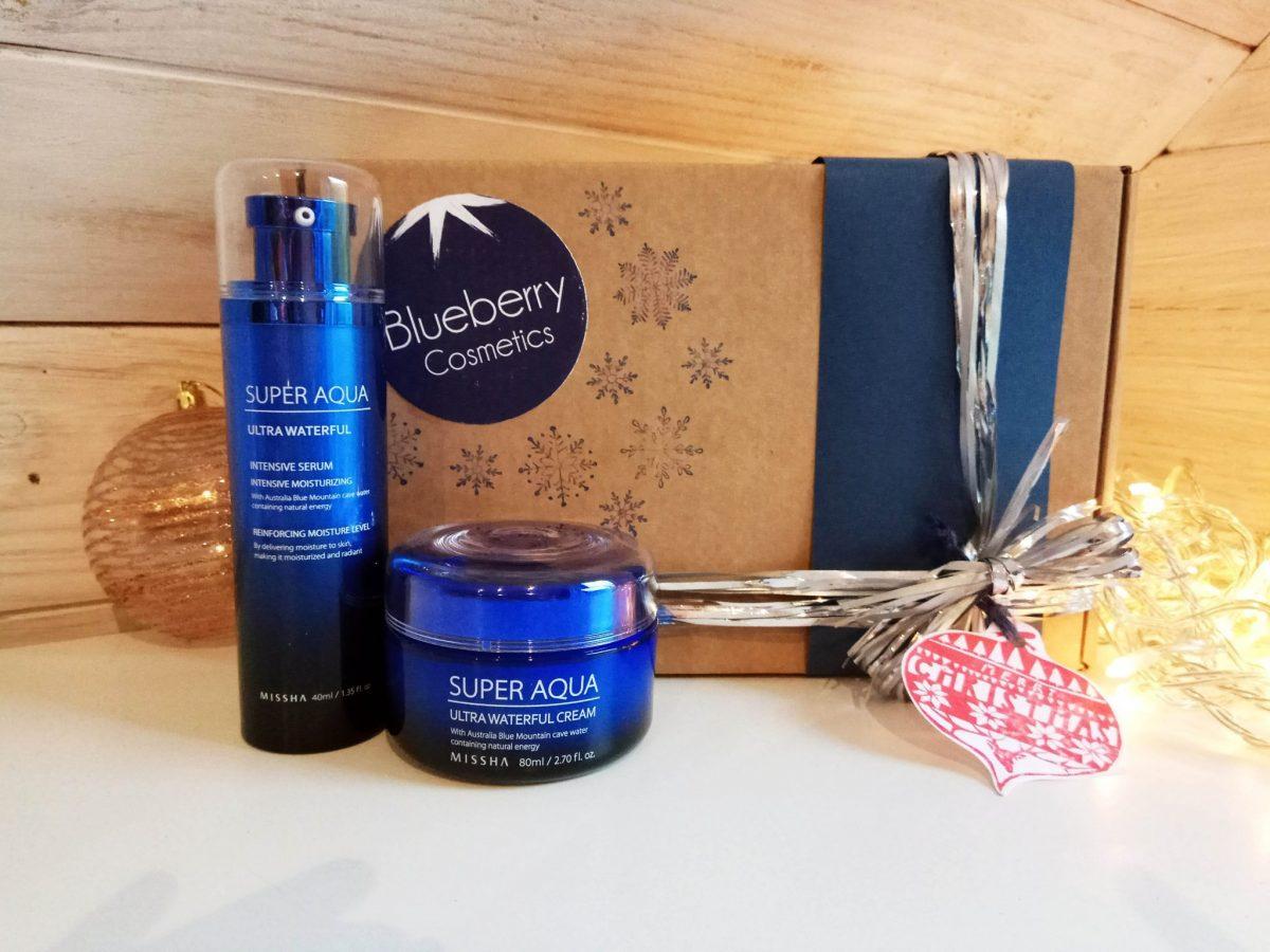 Blueberry Cosmetics Pack regalo de Navidad Super Aqua