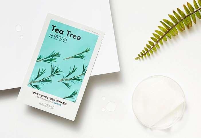 Missha Airy Fit Sheet Mask Tea Tree 2