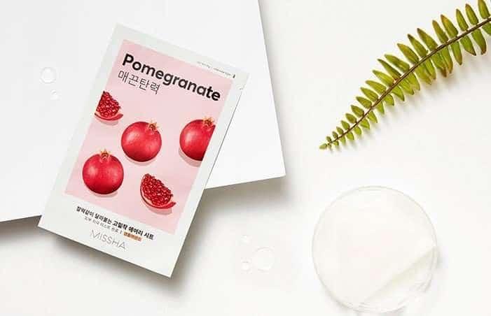 Missha Airy Fit Sheet Mask Pomegranate
