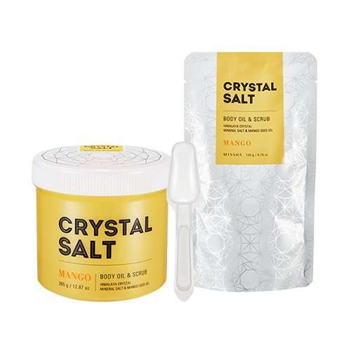Missha Crystal Salt Body Oil & Scrub Aceite exfoliante corporal