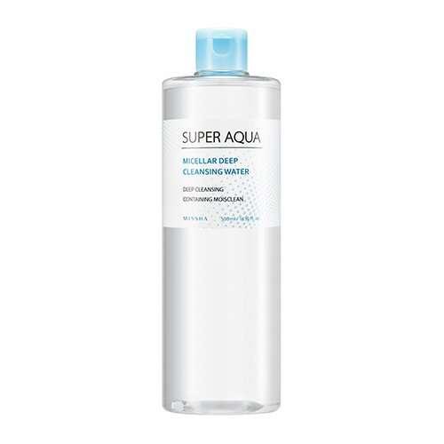 Missha Super Aqua Micellar Deep Cleansing Water Agua micelar